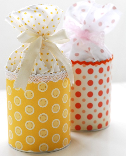 Tin Can DIY Gifts