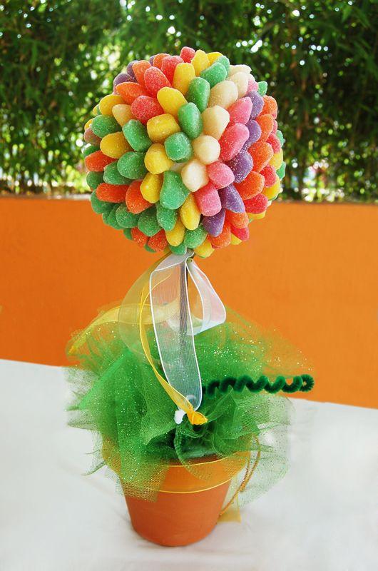 centro de mesa con dulces12