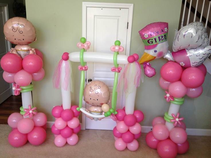 Decoraciones con globos para baby shower dale detalles for Decoracion para todo