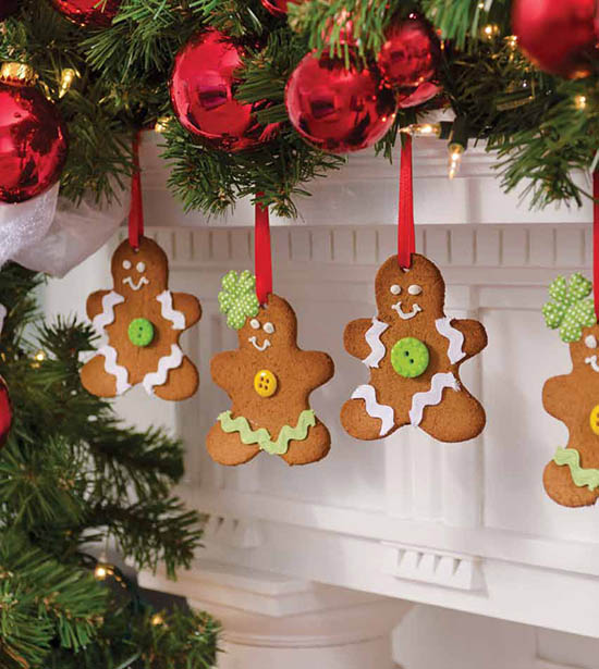 """Michelle Obama's Gingerbread Ornaments for """"A White House Christmas"""" Photo by: Anne-Marie Caruso"""